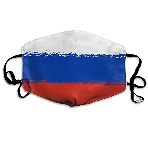Flagge von Russland Mundabdeckung Gesichtsabdeckung
