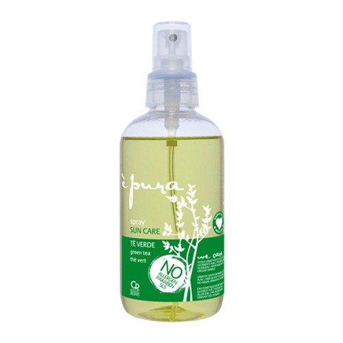 È Pura - Spray Protector Solar Profesional - Tratamiento de Protección Solar Natural para el Cabello Teñido y Tratado - Mantiene los Colores Brillantes - Con Filtros UV - 200 ml