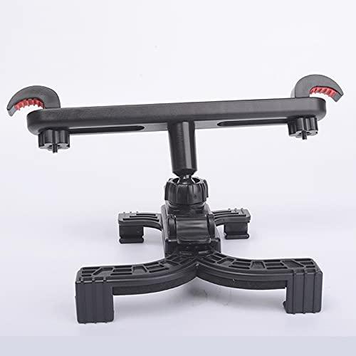 NLLeZ 1 UNID flexible ajustable 360 grados tableta rotativo soporte de asiento trasero del coche adecuado para el estilo de la tableta de 7 a 11 pulgadas (Color : Negro)