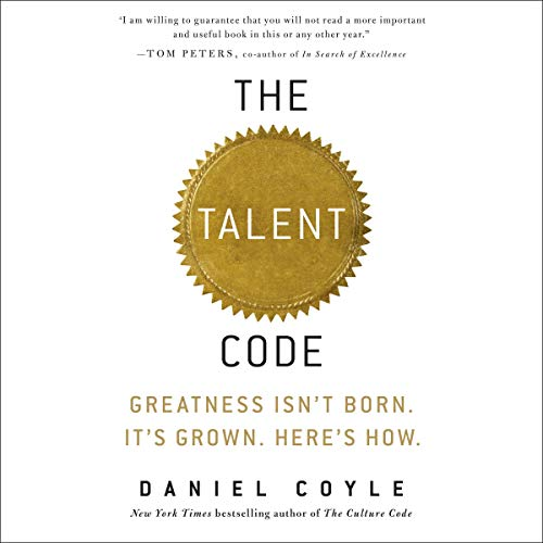 Couverture de The Talent Code