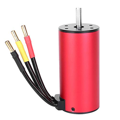 T best Brushless Motor, 1100W 4 Poles HH3674 Brushless Motor Outrunner 1/10 1/8 RC Car Boats Spare Parts RC Vehicle Scale Accessories(2250KV)
