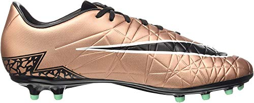 Nike Herren Hypervenom Phelon II FG Fußballschuhe, Schwarz (Schwarzgold), 45 EU