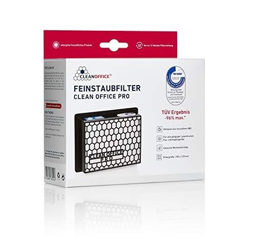 Clean Office PRO Feinstaubfilter für Laserdrucker, 1 Filter pro Faltschachtel Kopierer Schutz vor Toner Feinstaub VOC Filtergroesse 150 x 120 mm