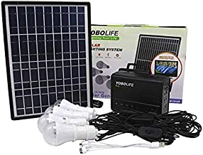40W Home Outdoor-Abenteuer Camping Tragbare Polysilizium-Sonnenkollektoren Ladegenerator Power System mit LED Ongoion Tragbarer Solargenerator