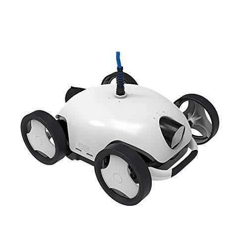 Robot automático limpiafondos para Piscinas Limpiador de Piscina Automático Máquina de succión...