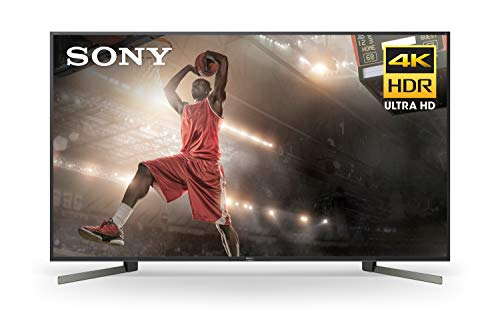 Sony XBR85X950G X950G 85 Inch TV: 4K Ultra HD Smart LED TV with HDR and Alexa Compatibility - 2019 Model, Black
