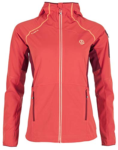 Ternua Westdahl Chaqueta, Mujer, ibiscus Red, S
