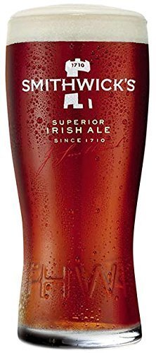 Smithwick's Irish Ale 3D Raised Lettering Signature Glass - 1 Glass by Smithwick's