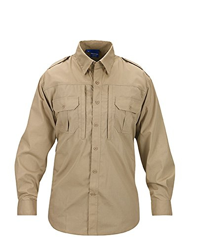 Propper Men's Long Sleeve Tactical Shirt - Large - Khaki