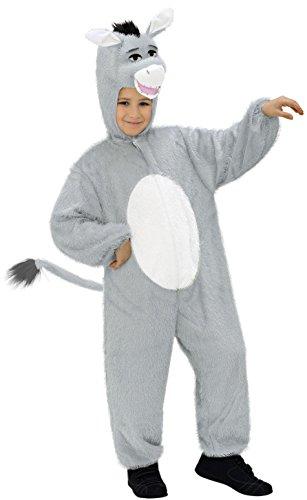 WIDMANN Plush Burro de Vestuario para Animales y Criaturas de fantasía de Vestir Trajes