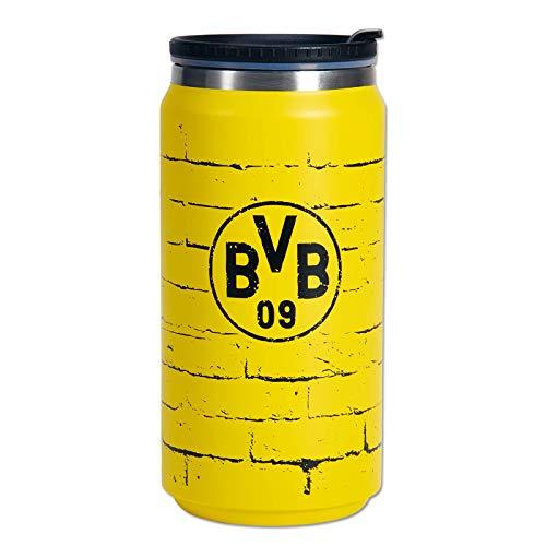Borussia Dortmund BVB-Coffee-to-Go-Thermobecher Gelbe Wand 350ml