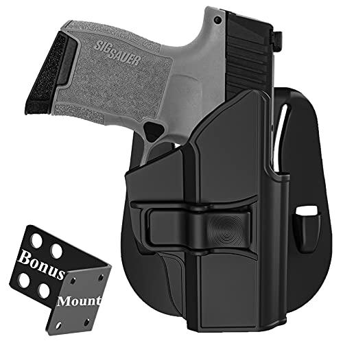 Gun Holster fit Sig sauer P365 Micro-Compact 9mm, Sig P365...