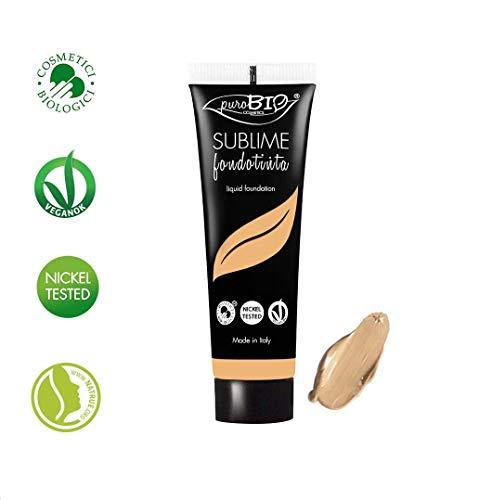 puroBIO–Base de maquillaje líquido Sublime–tono 03–