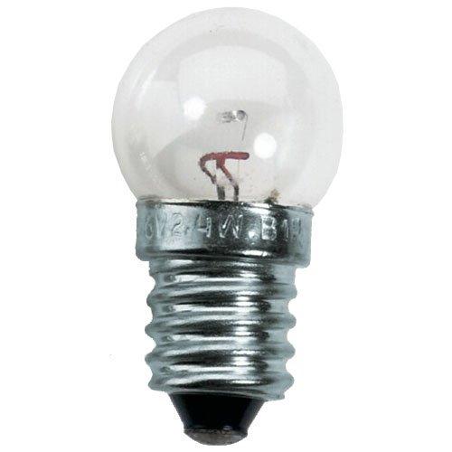 Prophete Scheinwerfer-Glühlampen, 6 V /2,4 W, 2 Stück, schwarz, L