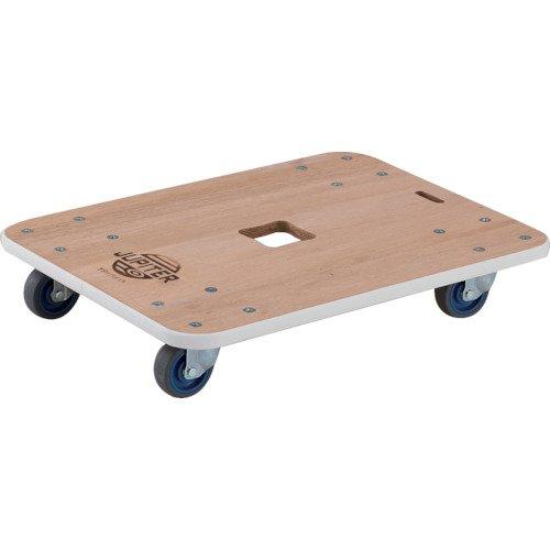 TRUSCO(トラスコ) 木製平台車 ジュピター 900X450 φ75 200kg JUP9045200