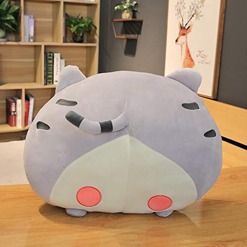 40 / 50cm Kawaii Corgi Hip Almohadas de Felpa Relleno de Dibujos Animados Cat Butt Peluches 50cm Gris