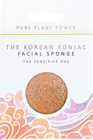 The Konjac Sponge Co The Elements Air avec camomille apaisante et éponge pour le visage en argile rose