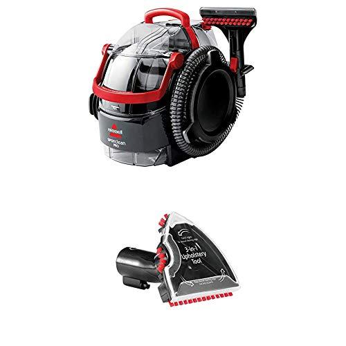 Bissell 1558N SpotClean Professional Flecken-Reinigungsgerät für Teppiche und Polster, tragbar, 750 W + 3-in-1 Stufen-und Polster-Aufsatz für alle Bissell Flecken-und Teppichreinigungsgeräte