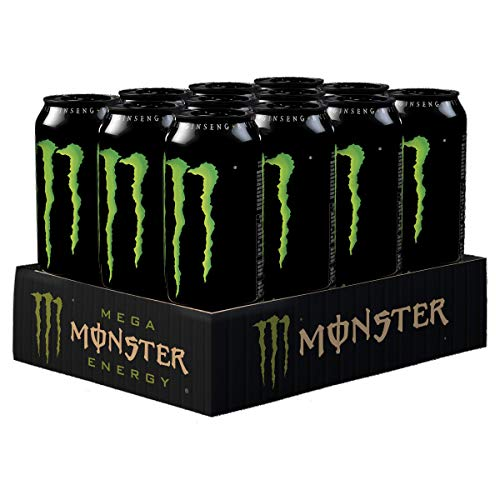 Monster Energy Can 500 Ml (pack Of 12)