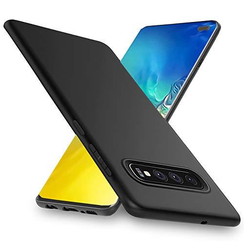 Chalpr Kompatibel mit Samsung Galaxy S10 Plus Hülle, Ultra Dünn Samsung S10 Plus Handyhülle, Anti-Fingerabdruck, Hohe Zähigkeit Kratzfest Weich Silikon Schutzhülle,Soft TPU Galaxy S10 Plus Hülle-Matt