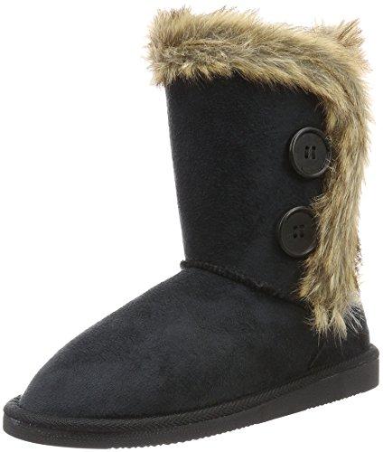 Canadians Damen Boots Schlupfstiefel, Schwarz (000 Black), 39