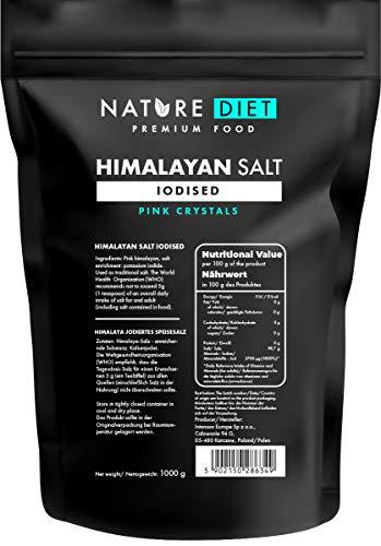 Nature Diet - Sal del Himalaya de Pakistán, 5 x 1000 g