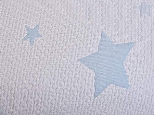MI CASA 90X135 Blue Star Tagesdecke, Babybett,...