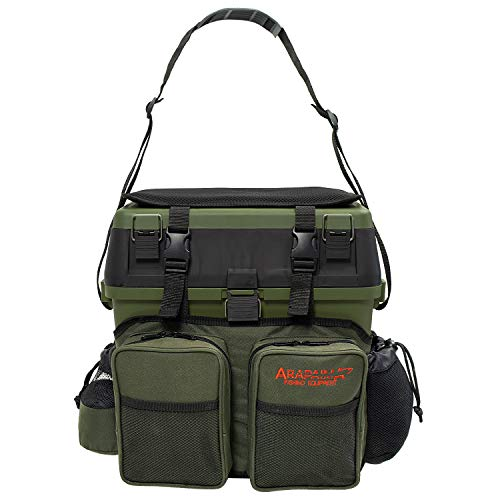 ARAPAIMA FISHING EQUIPMENT® Borsa da Pesca |...