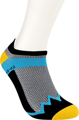 RS. Harmony | Damen & Herren Klettersocken Rotpunkt | 1 Paar | schwarz/gelb/blau | 39-42