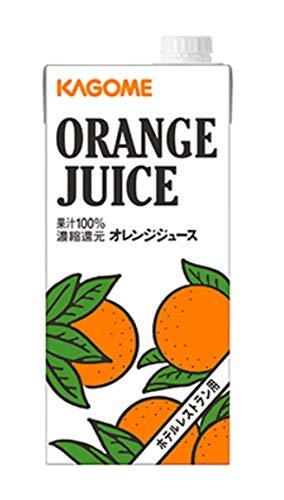 ホテルレストラン用 オレンジジュース 1L×6本 紙パック