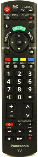 Original N2QAYB000328 Fernbedienung fit für Panasonic TX-L19C20E TX-L32C10E TX-L32S10B TX-P42C10ES