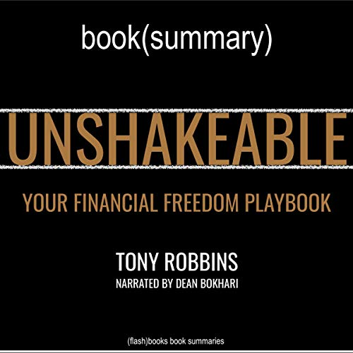 Unshakeable by Anthony Robbins - Book Summary cover art