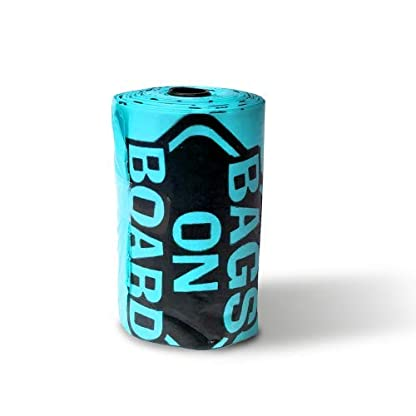Bags on Board Strong, Leak Proof Dog Poop Pick-up Bags - Ocean Breeze scent (140 Bags) 6