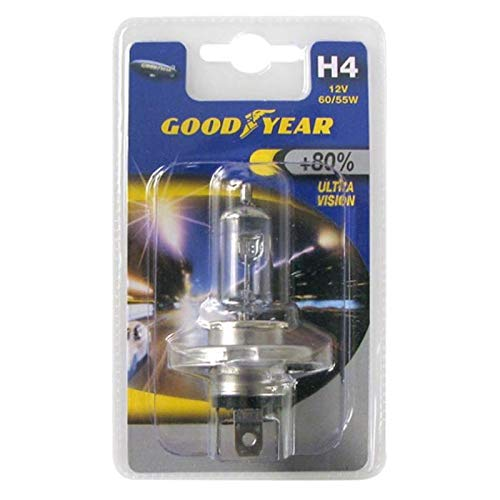 Goodyear Lampe H4 12V 60/55W Ultra Vision +80%