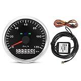 Velocímetro GPS: medidor de GPS Digital Universal, velocímetro GPS Impermeable, odómetro para Coche, Motocicleta, Tractor, camión