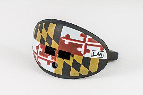 LOUDMOUTHGUARDS Schnuller Lippenschutz Mundschutz (Maryland-Flagge)