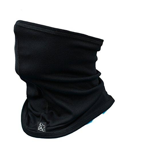 ROUGH RADICAL halb Sturmhaube Skimaske Sturmmaske NECKTUBE COOL XTR (schwarz)