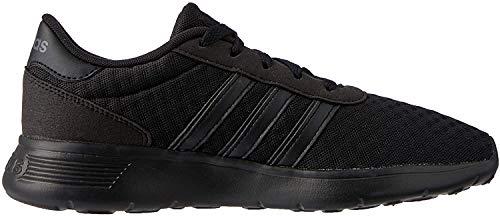 adidas Unisex-Erwachsene Lite Racer Sneaker - Schwarz (Negbas / Negbas / Gricin 000) , 45 1/3 EU