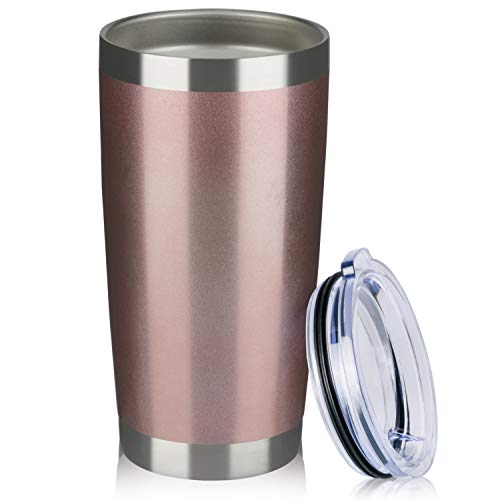 MEWAY 20oz Tumbler Cup Double Wall Vacuum Insulated Travel Mug