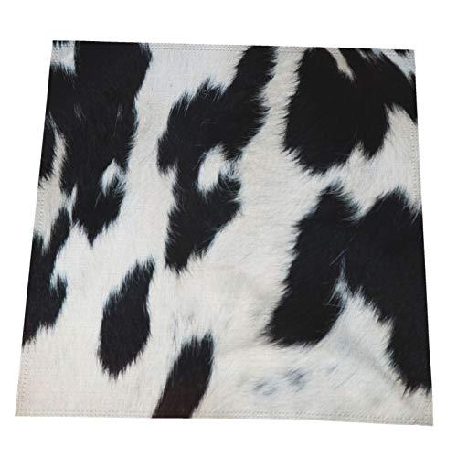 Una textura natural de la piel de la vaca Manteles individuales para...