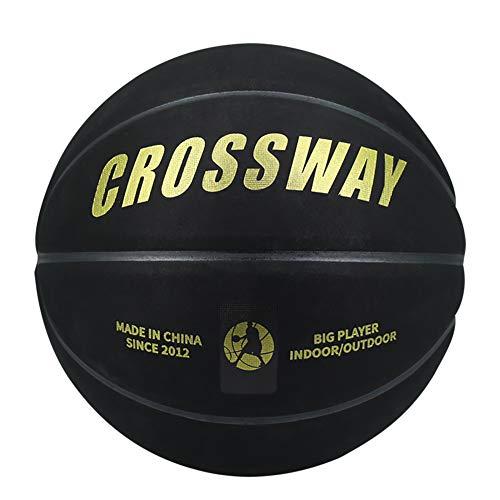 Pelota de Baloncesto Balón De Baloncesto De Goma para Adultos, Equipo De Entrenamiento para Niños
