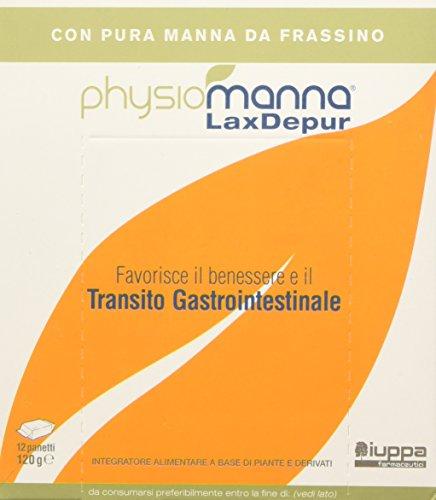 Physiomanna Laxdepur Integratore Alimentare 12 Panetti - 10 Gr
