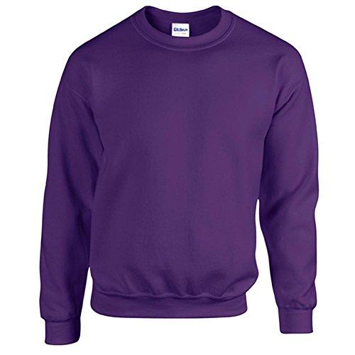 Gildan Heavy Blend Erwachsenen Crewneck Sweatshirt 18000 XXL, Purple