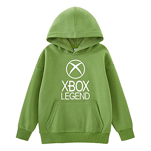 Mmugfdfhf Xbox-Legend Pullover Boys Slim Shop Thick Warm Sweatshirt Airy Basic Abrigos...