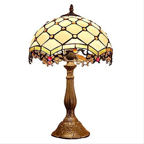 Lámparas Tiffany para La Lámpara De Mesa De Sala De Estar Retro Tiffany Lámpara De Mesa Tiffany Lámparas