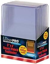 "Ultra Pro 3"" X 4"" Super Thick 130pt Toploader - 10ct"