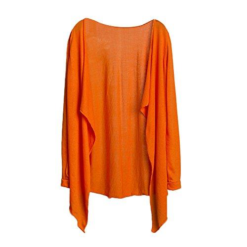 DEELIN Longsleeved Top Blanco Un tamaño para Mujeres Orange One Size