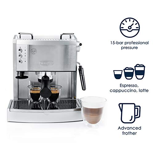 the EC702 Espresso Maker and its features