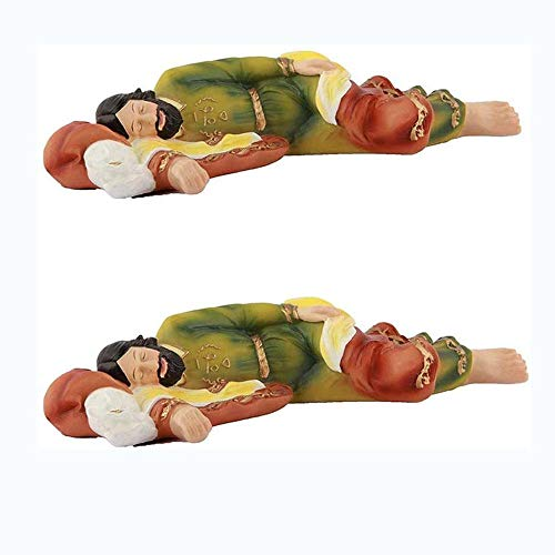 WESD Estatua de San José durmiendo estatua de San José Durmiendo, figura figura de 21 cm, estatua de resina católica de San José, 1 pieza