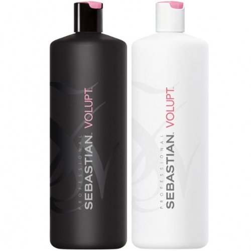 Sebastian Volupt Shampoo 1000ml & Conditioner 1000ml met Pomp Dispensers